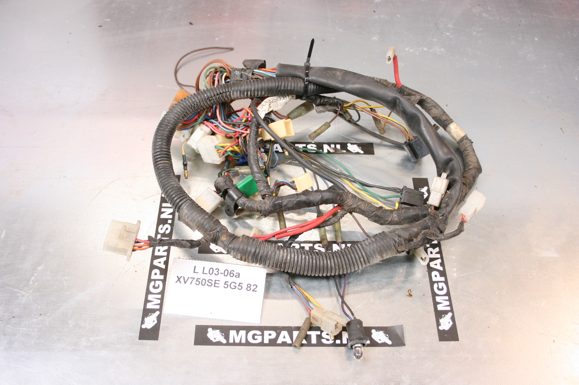 Yamaha Xv 750 Se 5g5 81 82 Kabelboom 4x7 82590 51 Wire Harness Virago Wiring Mg Parts
